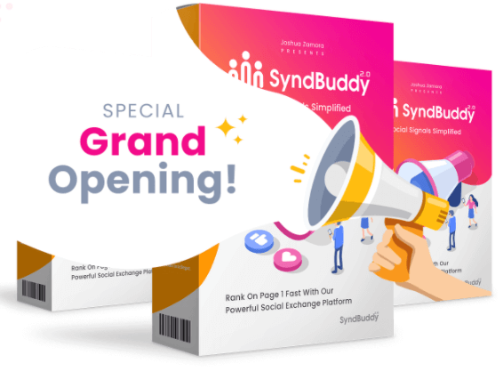 SyndBuddy2.0 review Top notch  Discount Price $27-$47