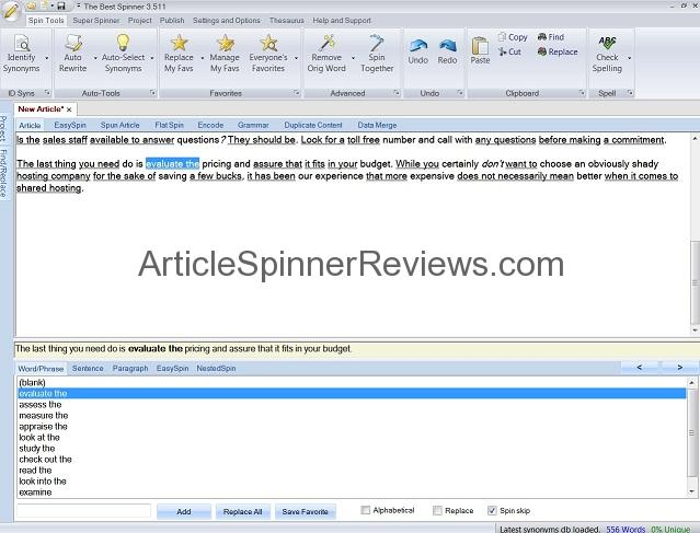 The Best Spinner Review tutorial